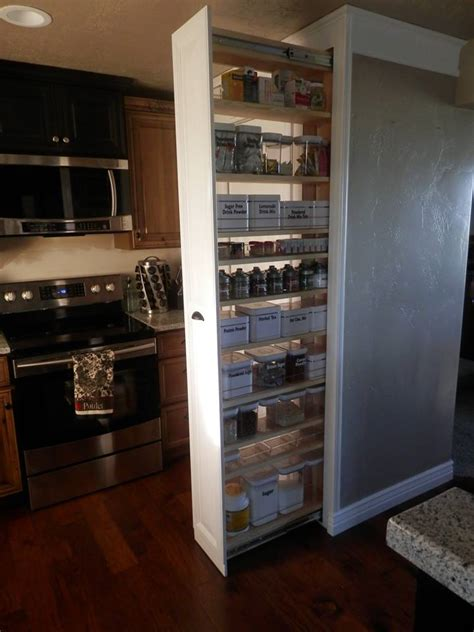 pull out cabinets kitchen pantry hometalk pull out pantry