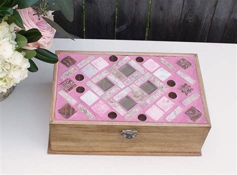 how to make a jewelry box diy mosaic jewelry box 183 how to make an embellished box