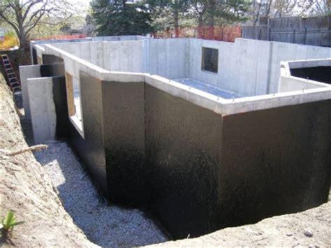 waterproof basement construction foundations retaining walls waterproofing maris