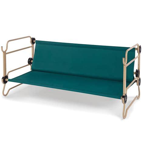 portable bunk beds the foldaway bunk beds hammacher schlemmer