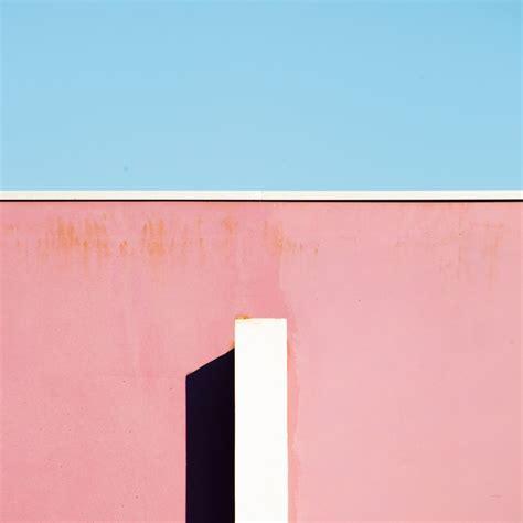 Japanese Minimalism geometric minimalist photography of pastel coloured
