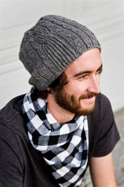 knit hat mens s knit hat pattern a knitting