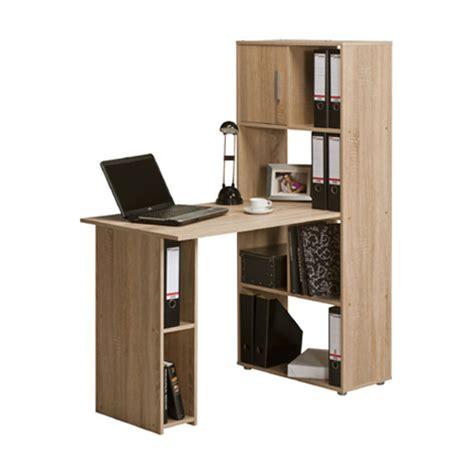 oak finish computer desk alfie sonoma oak finish computer desk with shelves 22885
