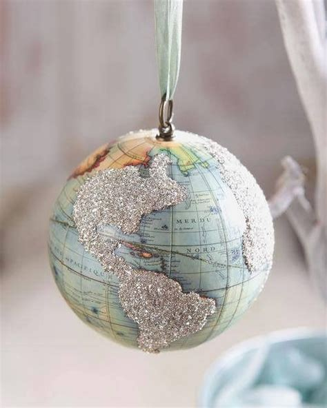 globe ornaments vintage globe globes and ornaments on