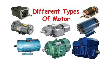 All Electric Motors by Different Types Of Electric Motor Classification Of