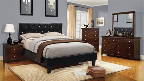 acrylic bedroom furniture furniture of america basteen tufted acrylic accent
