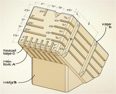 knife block woodworking plans free woodworking plans knife block plans intarsia
