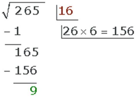 vitutor raices cuadradas c 225 lculo de la ra 237 z cuadrada paso a paso