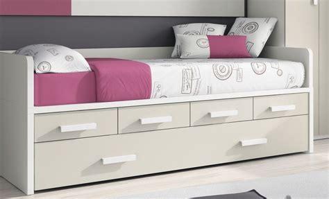 sofa cama con cajones camas compactas con cama nido randa cama nido con cajones