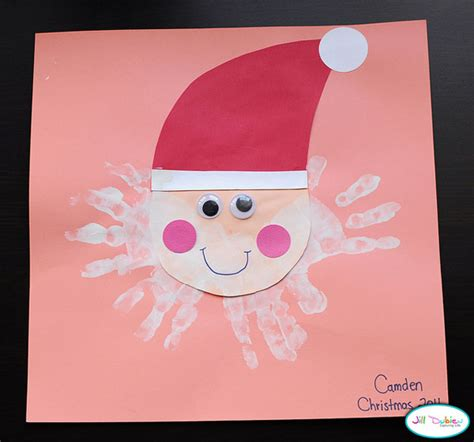 santa craft for 33 easy to make santa crafts all about