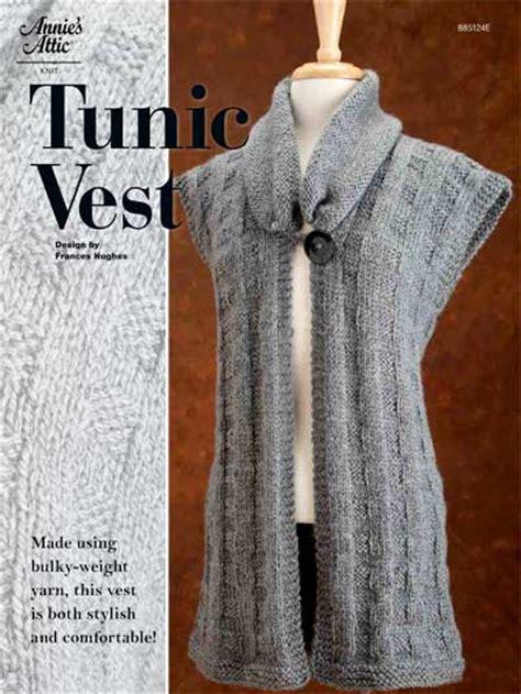 knit patterns for vests in one tunic vest knit vest pattern