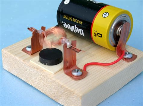 Electric Motor Science by Building And Improving A Simple Electric Motor Http Www