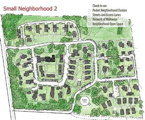 neighborhood plans pocket neighborhoods creating small scale community in