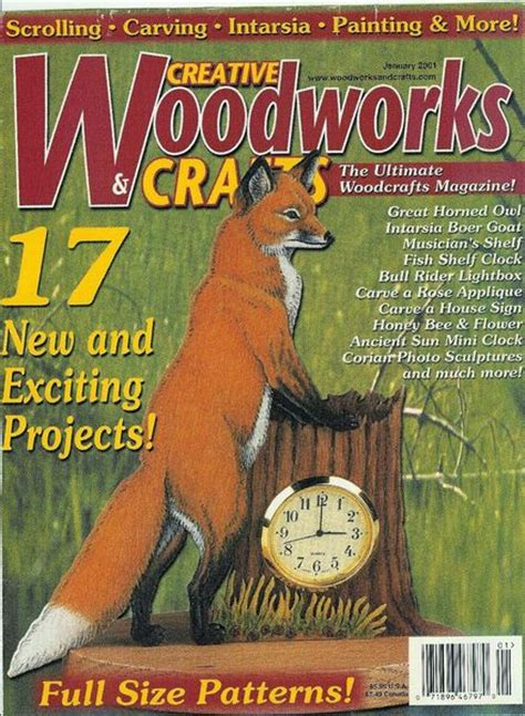 woodworks magazine crafts 2001
