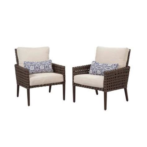 home depot patio chairs hton bay raynham patio lounge chairs set of 2 dy12091