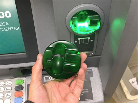 how to make a card skimmer customer finds card skimmer on atm at heights 7 11
