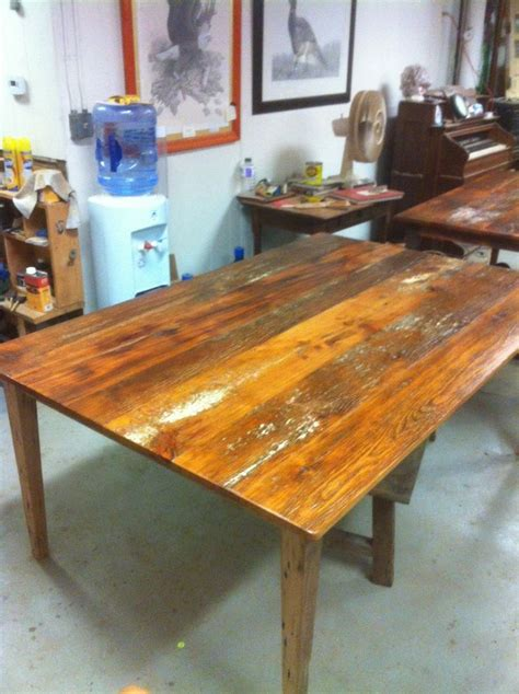 ct woodworking custom made tables from local reclaimed wood for j p