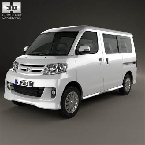 Daihatsu Luxio by Daihatsu Luxio 2013 3d Model For In Various Formats