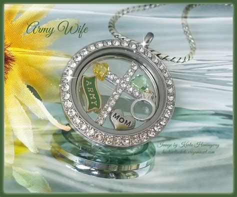 origami owl army charm 511 best images about origami owl locket ideas on