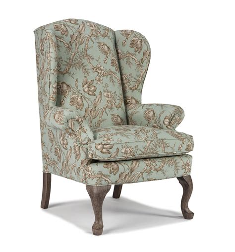 Wingback Chair by Best Home Furnishings Wing Chairs Sylvia Wing Back Chair