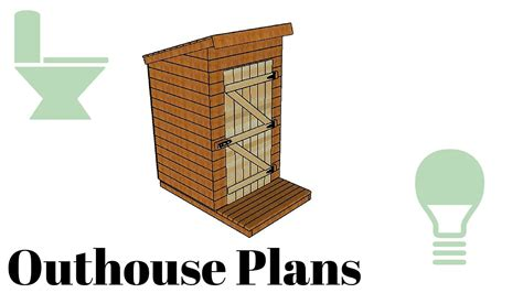 how to make house plans outhouse plans