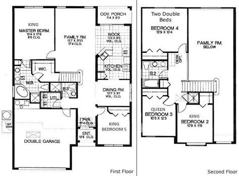 five bedroom home plans 5 bedroom house floor plans 171 floor plans