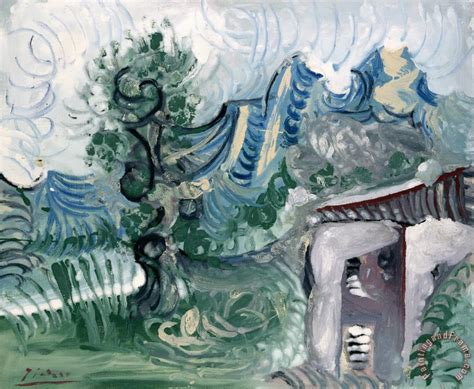 pablo picasso nature paintings pablo picasso landscape painting landscape print for sale