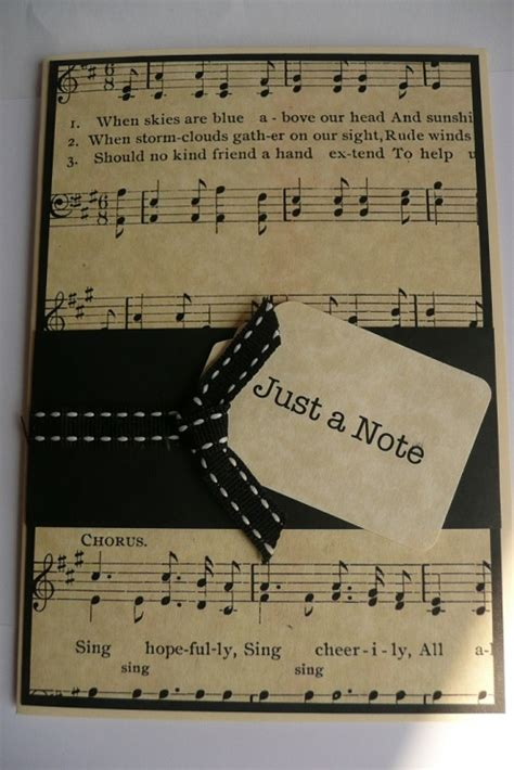 how to make a musical card 32 handmade birthday card ideas and images