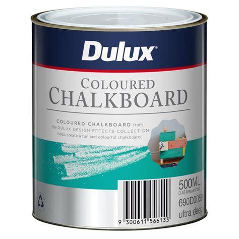 chalk paint bunnings dulux 500ml design ultra coloured chalkboard paint