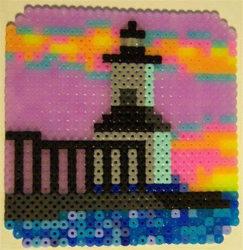 perler bead projects perler bead projects michigan city east light lighthouse