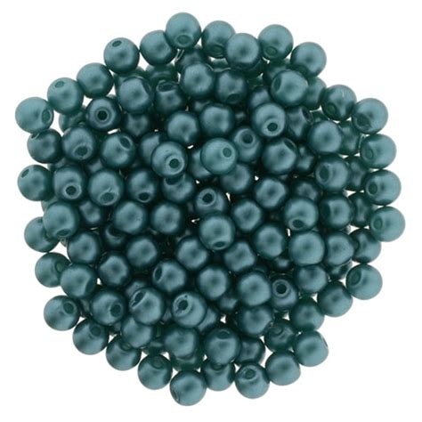 bead catalog glass pearls 3mm teal starman wholesale