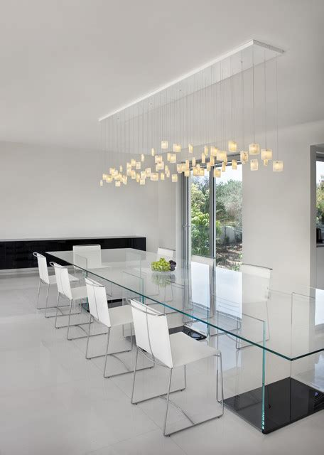 contemporary rooms contemporary dining room orchids chandelier by galilee