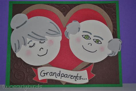 card ideas for parents day two early birds happy grandparents day