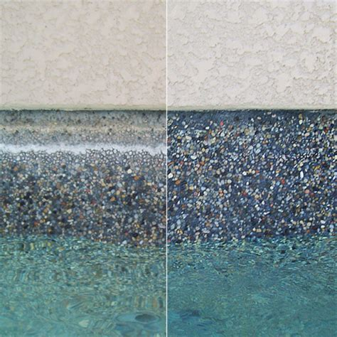 bead blasting how to clean pool tile for a shinier pool surface pool