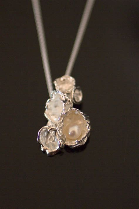 silver jewelry classes watercast pendant april classes events working