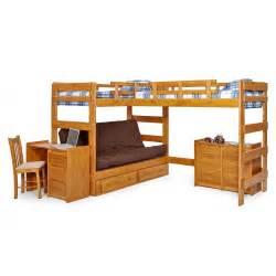 futon bunk bed with storage master wcm342 jpg
