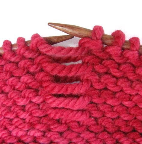 how to fix knitting how to fix a dropped stitch on garter stitch knitfreedom