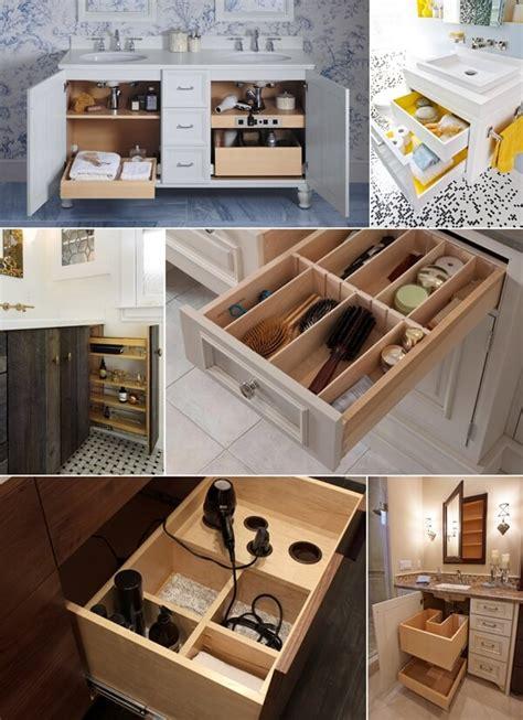Bathroom Vanity Storage Ideas clever bathroom vanity storage ideas