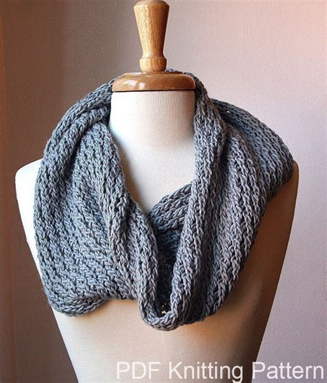 how to knit a snood scarf free pattern infinity circle scarf knitting pattern snood loop bridget