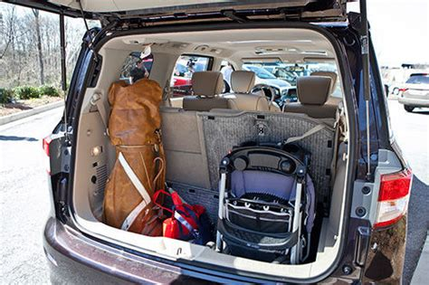 Minivan Cargo Space by Nissan Quest Owners As Rental Car Space Nissan Forum