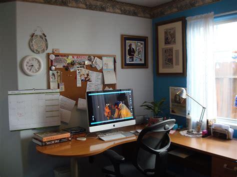 office desk area lathan novelist