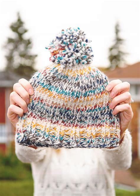 how to knit toque easy knit toque with free pattern the lovely things