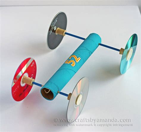 make a rubber st rubber band car family crafts