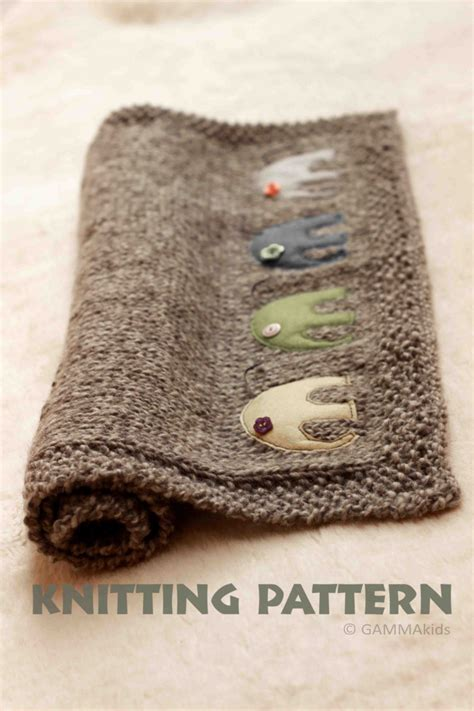 knit baby boy blanket baby blanket knitting pattern knitting elephant blanket baby