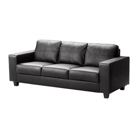 ikea sofa leather skogaby sofa glose bomstad black ikea