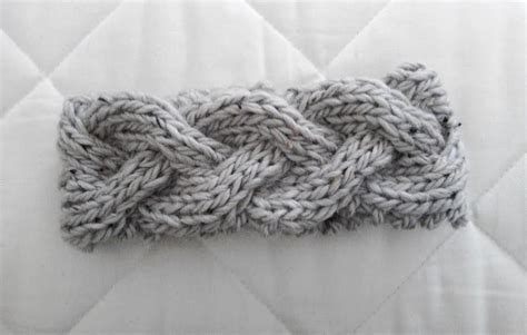 how to knit braid luluknits braided knit headband
