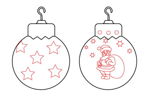 how to draw a ornament draw vintage ornaments balls