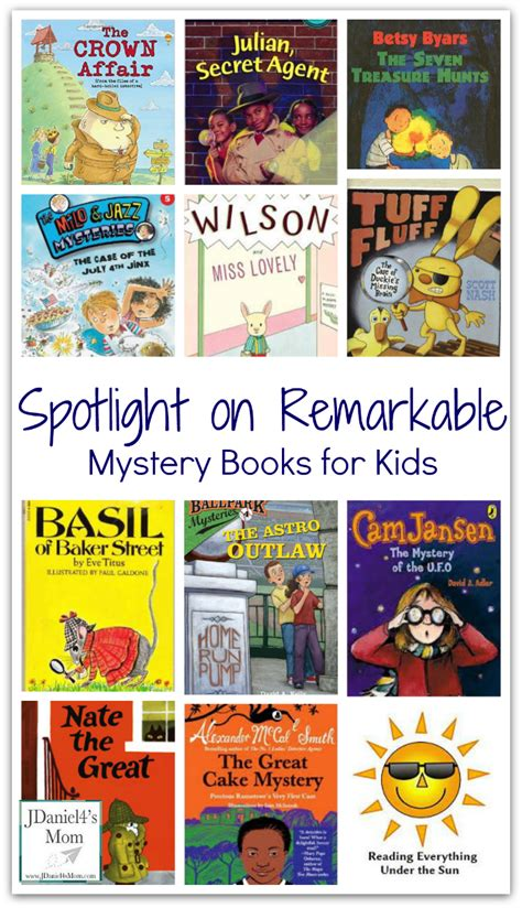 mystery picture books for spotlight on remarkable mystery books for