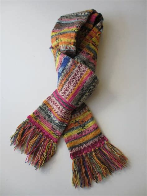 knitted scarf patterns using sock yarn 17 best images about sock yarn leftovers on