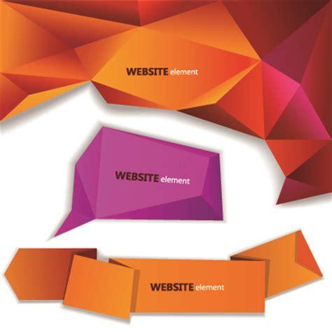 creative origami creative origami paper banner vector 04 vector banner